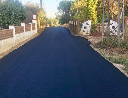 Asfaltado y acondicionamiento de vías – Ayuntamiento de Beas