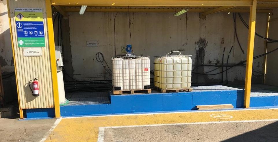 Almacen para productos químicos - Ence