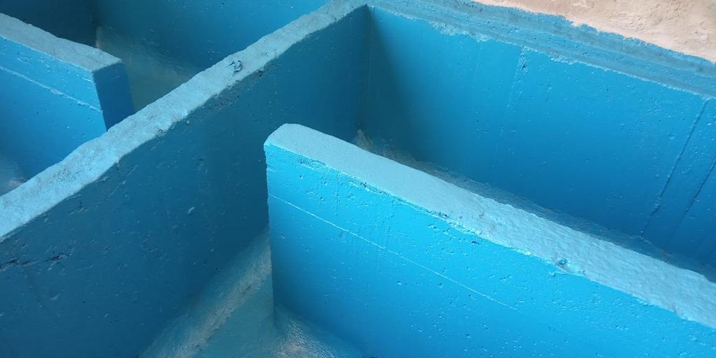 Detalle Almacen para productos químicos - Ence Huelva