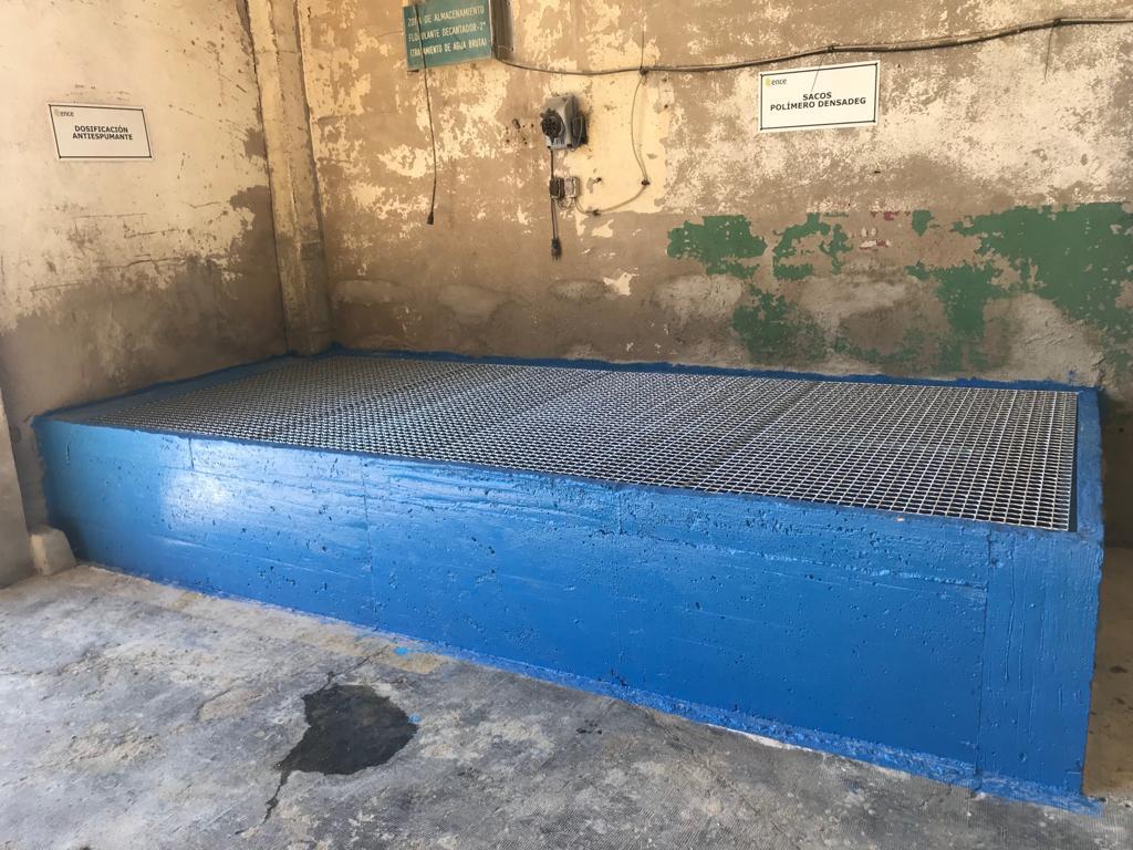 Primera Fase - Almacen para productos químicos - Ence Huelva