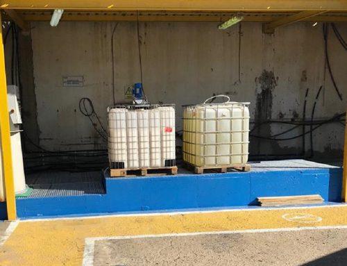 Construcción de almacén de productos químicos – Ence Huelva