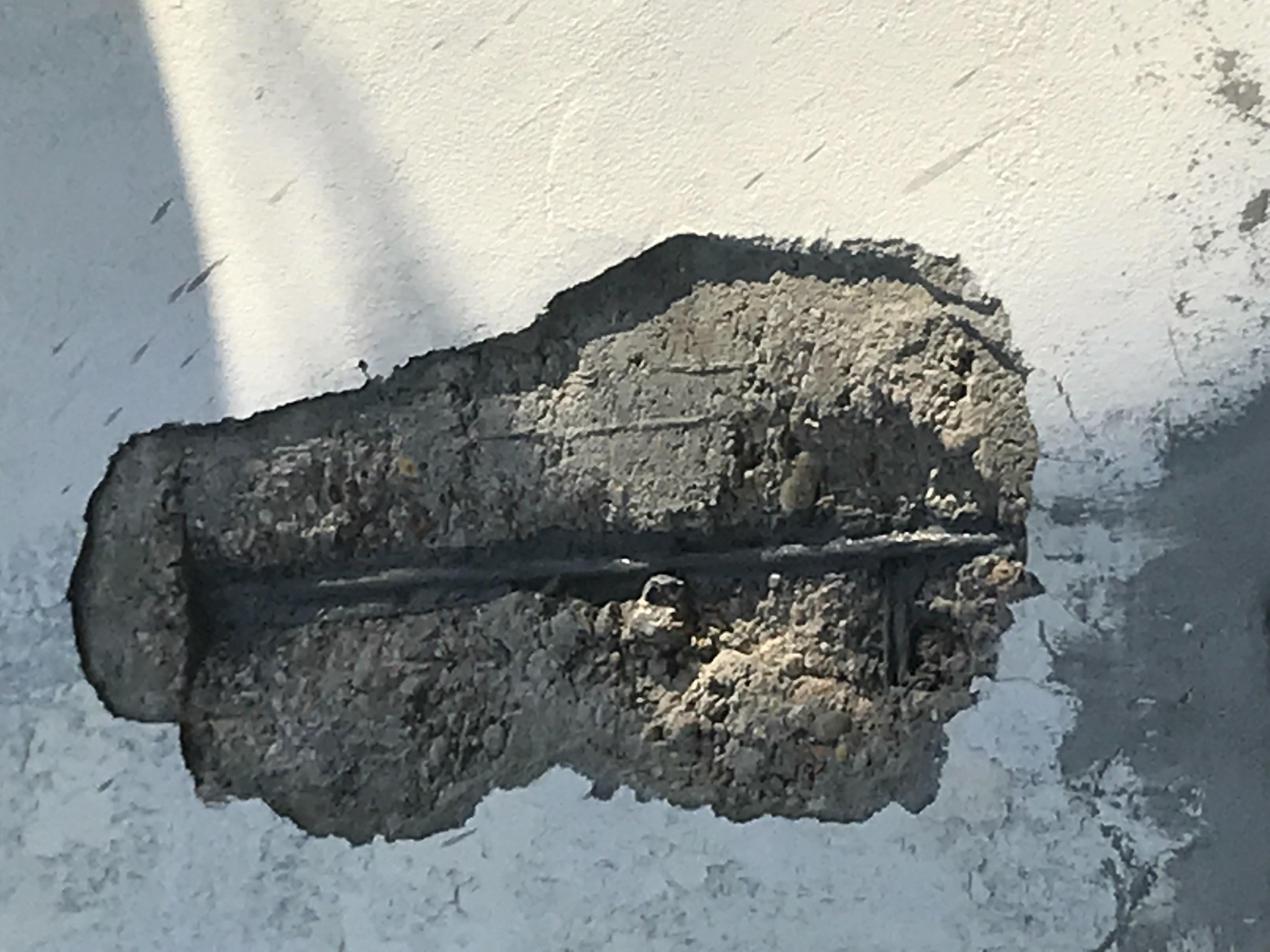 Reparación Fachada Expofrisa - Detalle